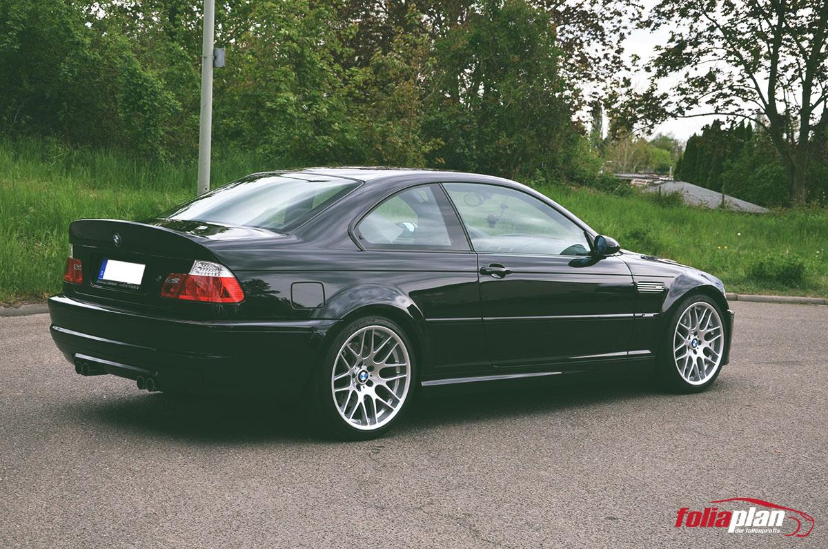 BMW M3 CSL Steinschutzfolie folierung foliaplan