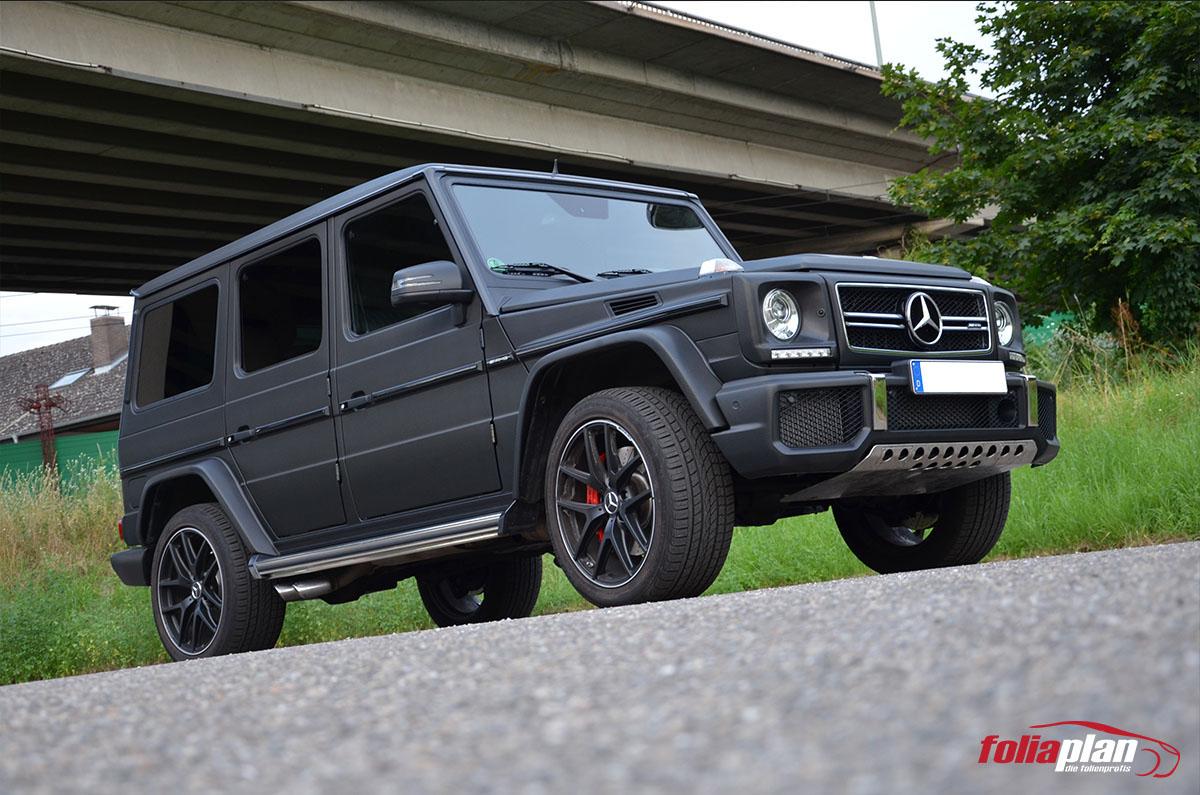 Mercedes-Benz G63 Carbon folierung foliaplan
