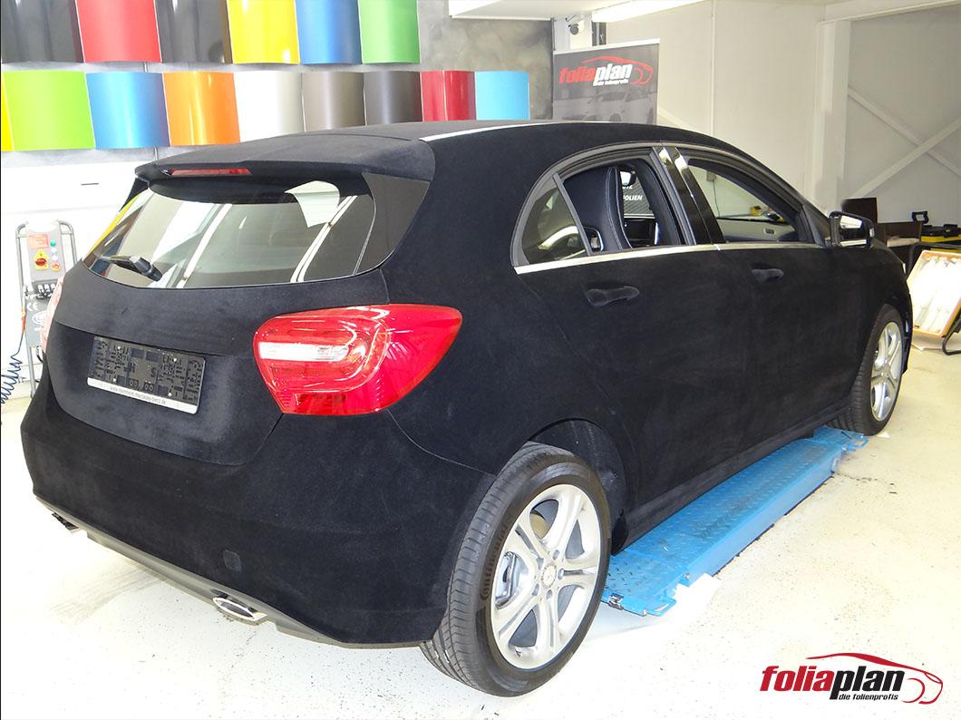 Mercedes-Benz A Welwett folierung foliaplan