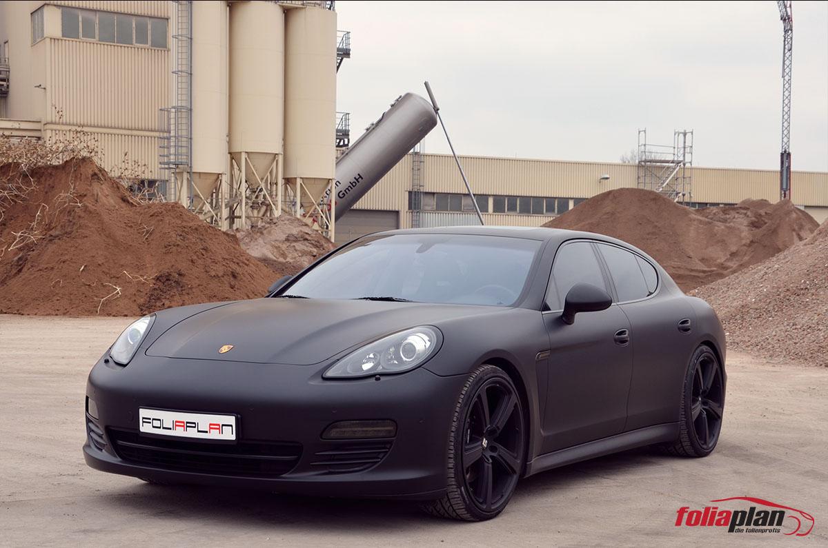 Porsche Panamera Matt folierung foliaplan