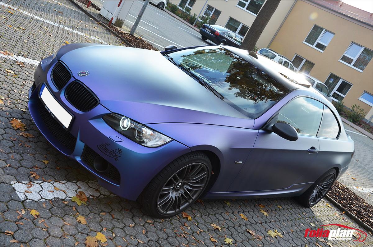 BMW E92  folierung foliaplan